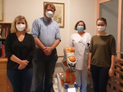 Responsible AI visits Care Robot LIO